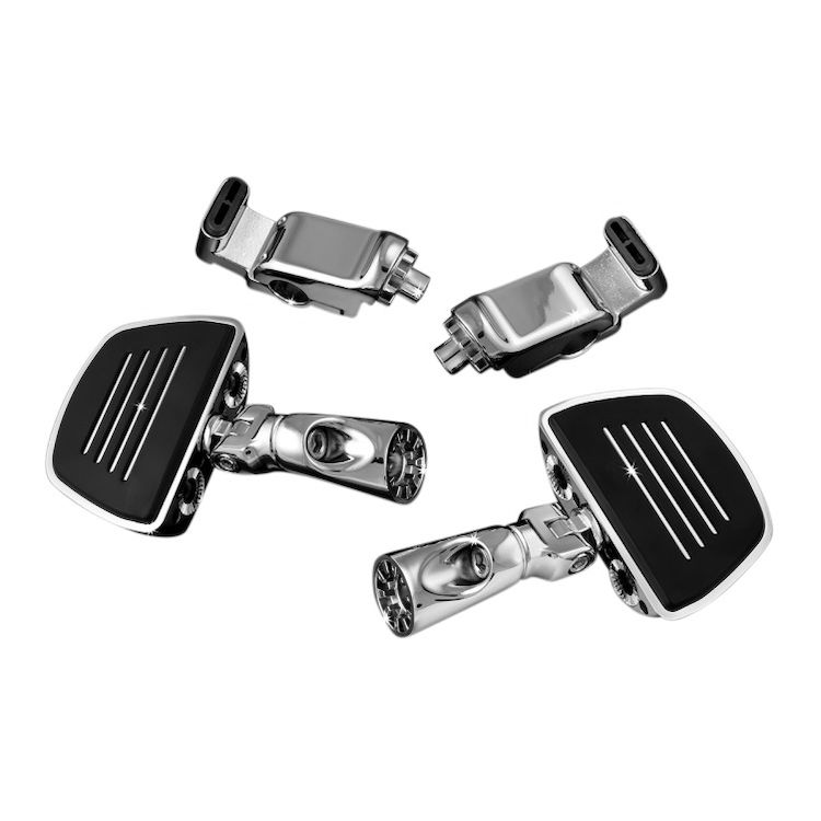 Kuryakyn Ergo II Premium Mini Floorboard Kit For Honda GoldWing GL1800 2001-2015