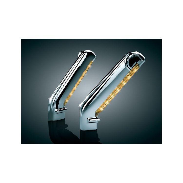 Kuryakyn LED Lighted Mirror Stem Covers For Harley 2003-2013