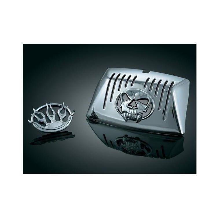 Kuryakyn Front Fender Lens Grill For Harley