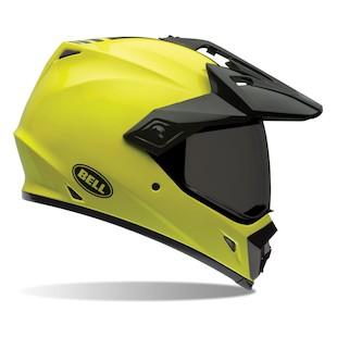 Bell MX-9 Adventure Hi-Vis Helmet (Size XS Only) (Color: Yellow / Size: XS) 1001117