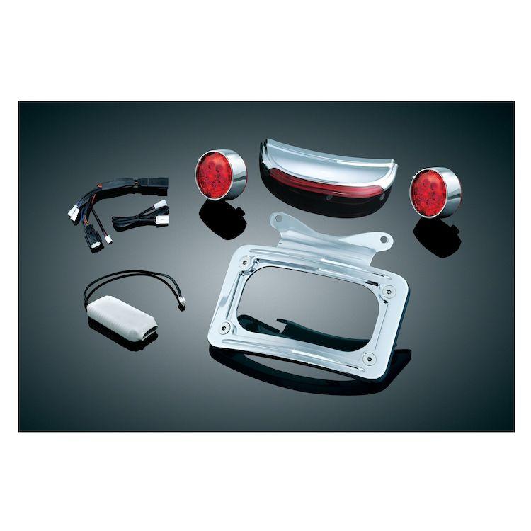 Kuryakyn LED Rear Light Conversion Kit For Harley Road / Street Glide 2010-2013