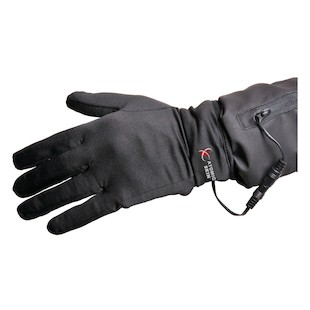 Powerlet Atomic Skin Heated Glove Liner With 5 Position Controller (Color: Black / Size: SM / MD) 978047