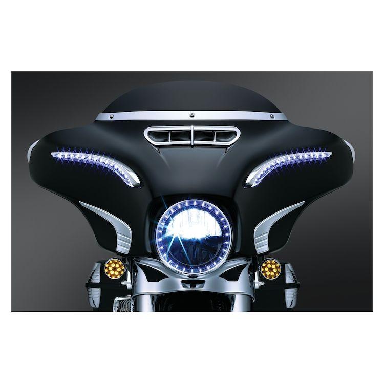 Kuryakyn LED Bat Lashes For Harley Touring 2014-2018