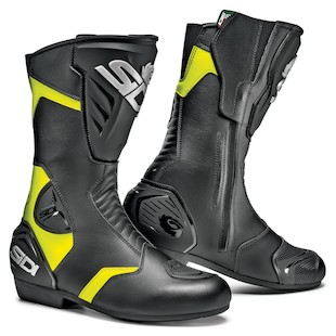 SIDI Black Rain Hi-Viz Boots (Color: Black/Fluo Yellow / Size: 10/44) 1002082