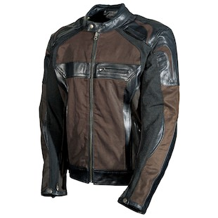 AGV Sport Compass Jacket (Color: Black/Brown / Size: MD) 1002317