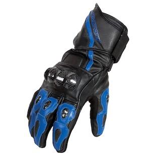 AGV Sport Intrepid Gloves (Color: Black/Blue / Size: LG) 1002360