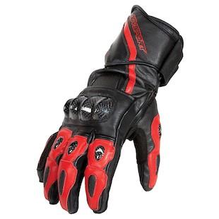AGV Sport Intrepid Gloves (Color: Black/Red / Size: MD) 1002364