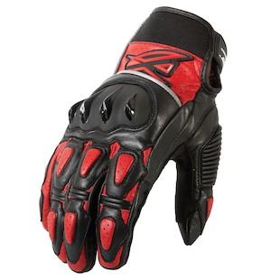 AGV Sport Valiant Gloves (Color: Black/Red / Size: 2XL) 1002402