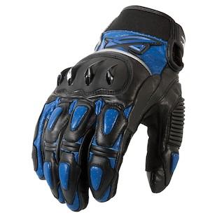AGV Sport Valiant Gloves (Color: Black/Blue / Size: LG) 1002395