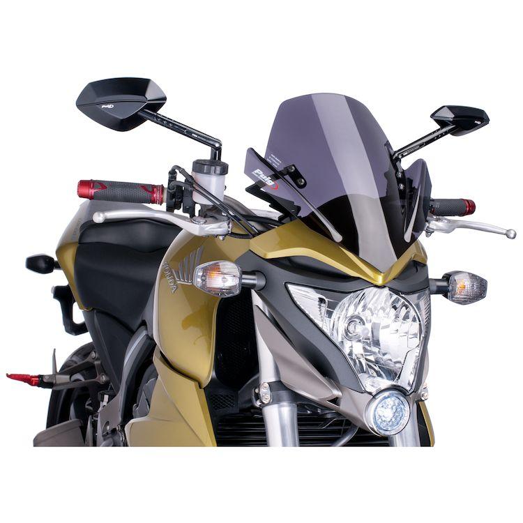 For Kawasaki Z1000 2007 2008 2009 Motorcycle ABS Windshield Windscreen ha