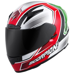 Scorpion EXO-R2000 Launch Helmet (Color: Red/Green / Size: 2XL) 1004864