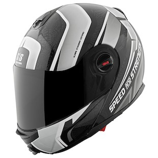 Speed and Strength SS1700 Lock And Load 2.0 Modular Helmet (Color: Black/White / Size: MD) 1005790