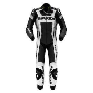 Spidi Warrior Wind Pro Race Suit (Color: Black/White / Size: 46) 1004279