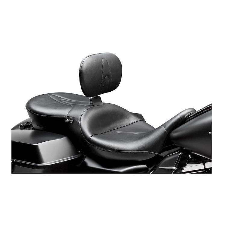 Le Pera Route 66 Seat With Backrest For Harley Touring 2008-2020