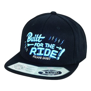 Roland Sands Built For The Ride Hat (Color: Black / Size: One Size Fits Most) 1007236