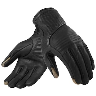 REV'IT! Antibes Women's Gloves (Color: Black / Size: XS) 1007789