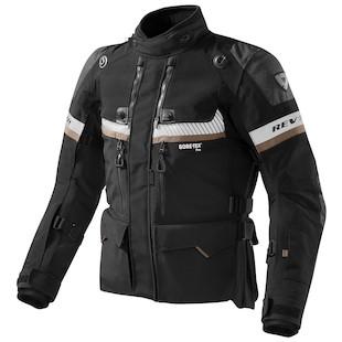 REV'IT! Dominator GTX Jacket (Color: Black / Size: 2XL) 1007461