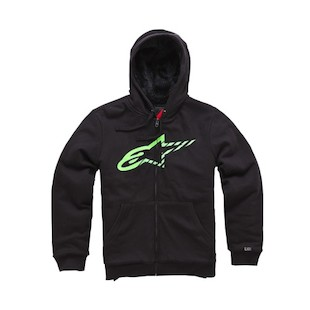 Alpinestars Round Up Hoody (Color: Black / Size: XL) 1006907