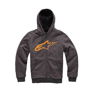 Alpinestars Round Up Hoody (Color: Charcoal / Size: 2XL) 1006913
