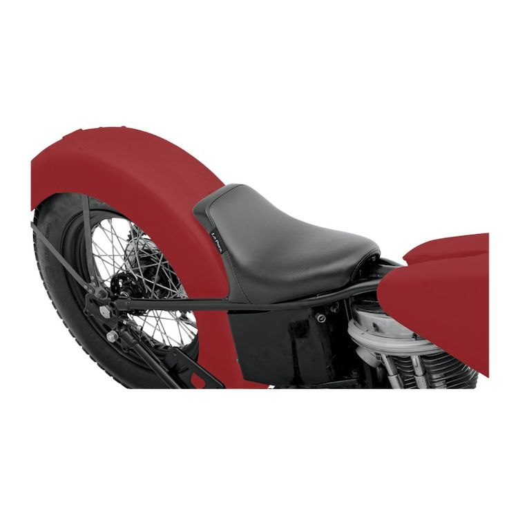 Le Pera Bare Bones Solo Seat For Harley Aftermarket Rigid Frames / Choppers