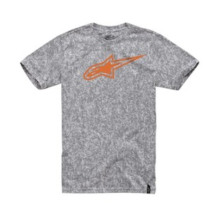 Alpinestars Inverse T-Shirt - (Size XL Only) (Color: Grey / Size: XL) 1008645