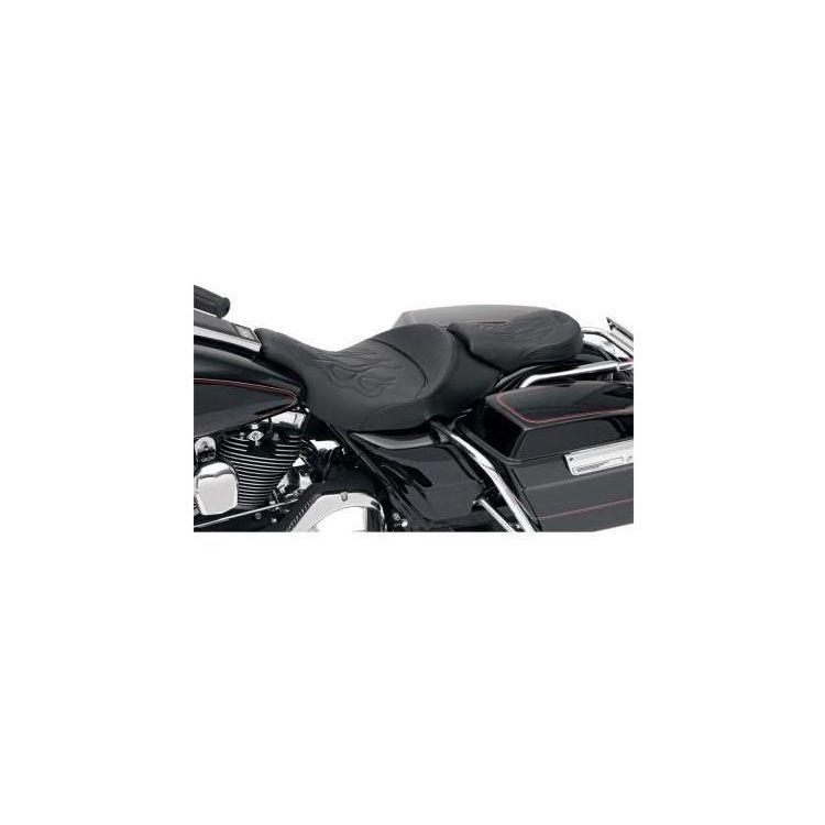 Saddlemen Tattoo Passenger Seat For Harley Road / Electra Glide 1997-2007