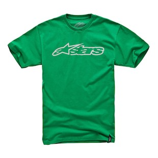 Alpinestars Blaze T-Shirt (Color: Green/Grey / Size: LG) 915938