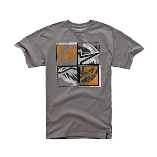 Alpinestars Four X Four T-Shirt - (Size XL Only) (Color: Charcoal / Size: XL) 1009026