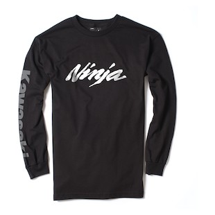 Factory Effex Kawasaki Ninja L/S T-Shirt (Color: Black / Size: 2XL) 1009104