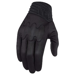 Icon Anthem Stealth Gloves (Color: Black / Size: 2XL) 1009598