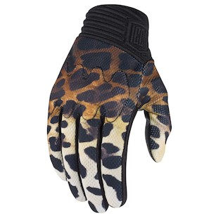 Icon 1000 Cheeter Women's Gloves (Color: Brown / Size: SM) 1009614