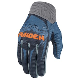 Icon Raiden Arakis Gloves (Color: Slate / Size: 4XL) 1009642