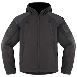 Icon 1000 Basehawk Jacket (Color: Stealth Black / Size: MD) 1009757