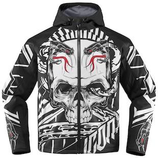 Icon Merc Vitriol Jacket (Color: Black/White / Size: MD) 1009702