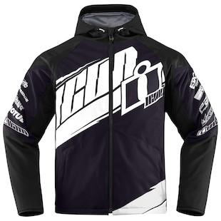 Icon Team Merc Jacket (Color: Black/White / Size: 3XL) 1009674