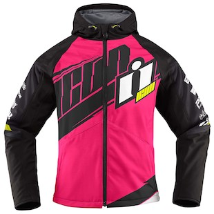 Icon Team Merc Women's Jacket (Color: Pink/Black / Size: SM) 1009738