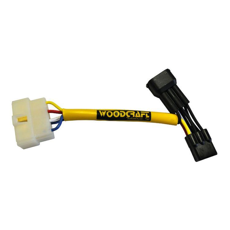 Woodcraft Keyswitch Elimination Harness Kawasaki ZX6R 2005-2012 / ZX10R 2004-2010