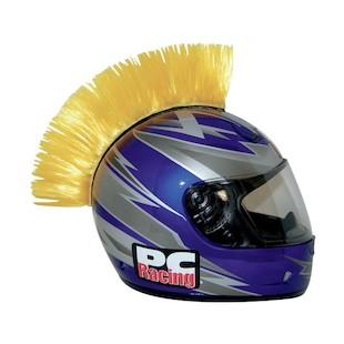PC Racing Helmet Mohawk (Color: Yellow) 1011553