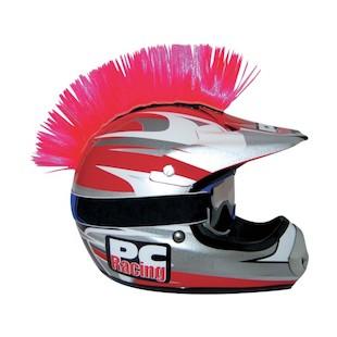 PC Racing Helmet Mohawk (Color: Pink) 1011552