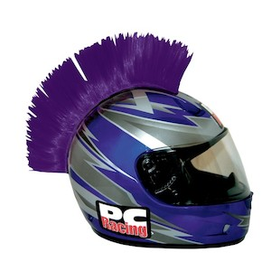 PC Racing Helmet Mohawk (Color: Purple)