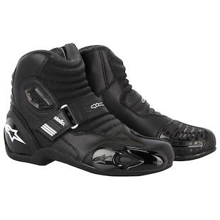 Alpinestars Stella SMX 1 Boots (Color: Black / Size: 44) 1012059