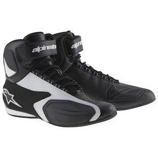 Alpinestars Faster Vented Shoes (Color: Black/White / Size: 11) 1011881