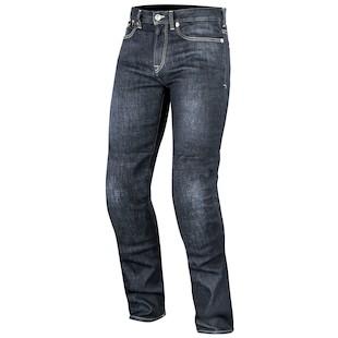 Alpinestars Oscar Charlie Riding Jeans (Color: Blue / Size: 34) 1012439