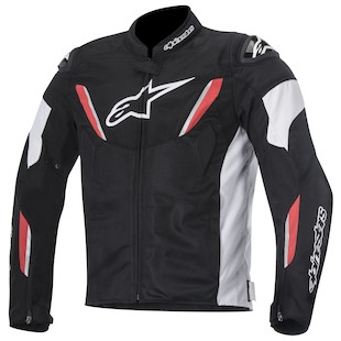 Alpinestars T-GP R Air Jacket (Color: Black/White/Red / Size: MD) 1012360