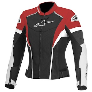 Alpinestars Stella GP Plus R Perforated Jacket (Color: Black/White/Red / Size: 44) 1012292
