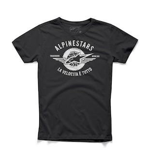 Alpinestars Velocity T-Shirt (Color: Black / Size: 2XL) 1012698