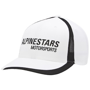 Alpinestars Motorworks Hat (Color: White) 1012484