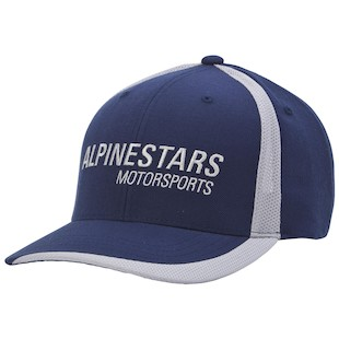 Alpinestars Motorworks Hat (Color: Blue) 1012483
