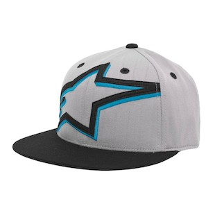 Alpinestars Mackey Hat (Color: Grey/Blue / Size: SM-MD) 1006478