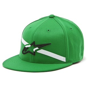 Alpinestars Campbell Hat (Color: Green / Size: SM-MD) 1013790